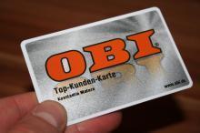 Obi Baumarkt Kundenkarte