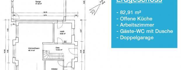 Grundriss vom Einfamilienhaus: Das wird unser Haus