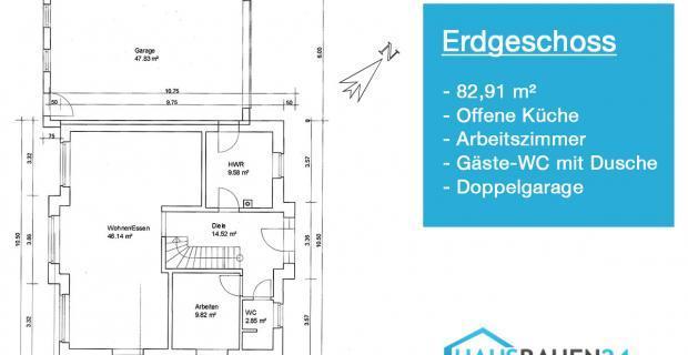 grundriss vom einfamilienhaus das wird unser haus. Black Bedroom Furniture Sets. Home Design Ideas