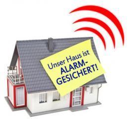 Haus alarmgesichert