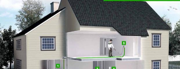 Zentralstaubsauger: Vorteile/Nachteile eines zentralen Staubsaugers im Neubau