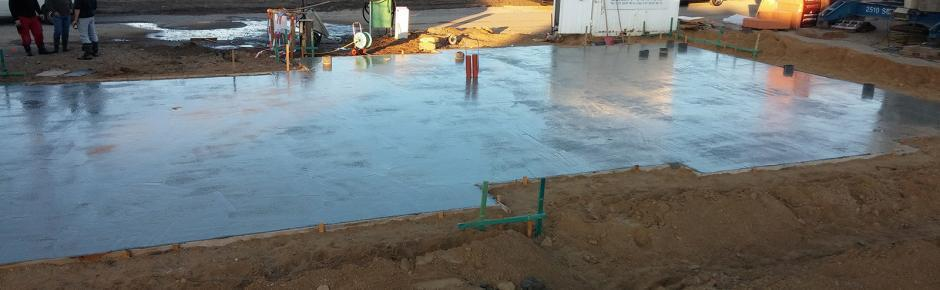 Haus bauen: 5.) Die Bodenplatte ist das Fundament