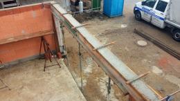 Garagensturz und Ringanker betonieren