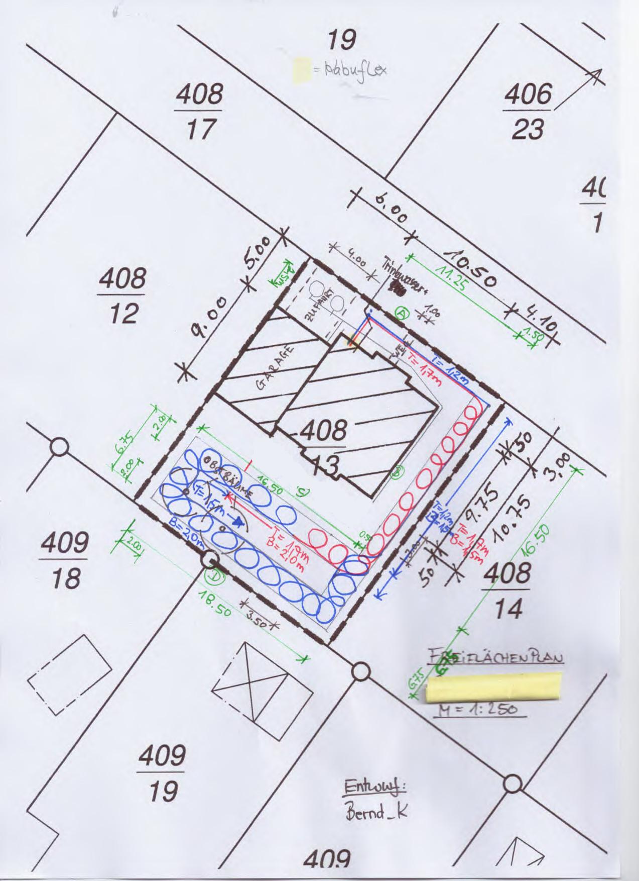 grabenkollektor pe hd rohre f r unsere heizung verlegt. Black Bedroom Furniture Sets. Home Design Ideas