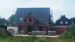 Dach eingedeckt mit Creaton Futura