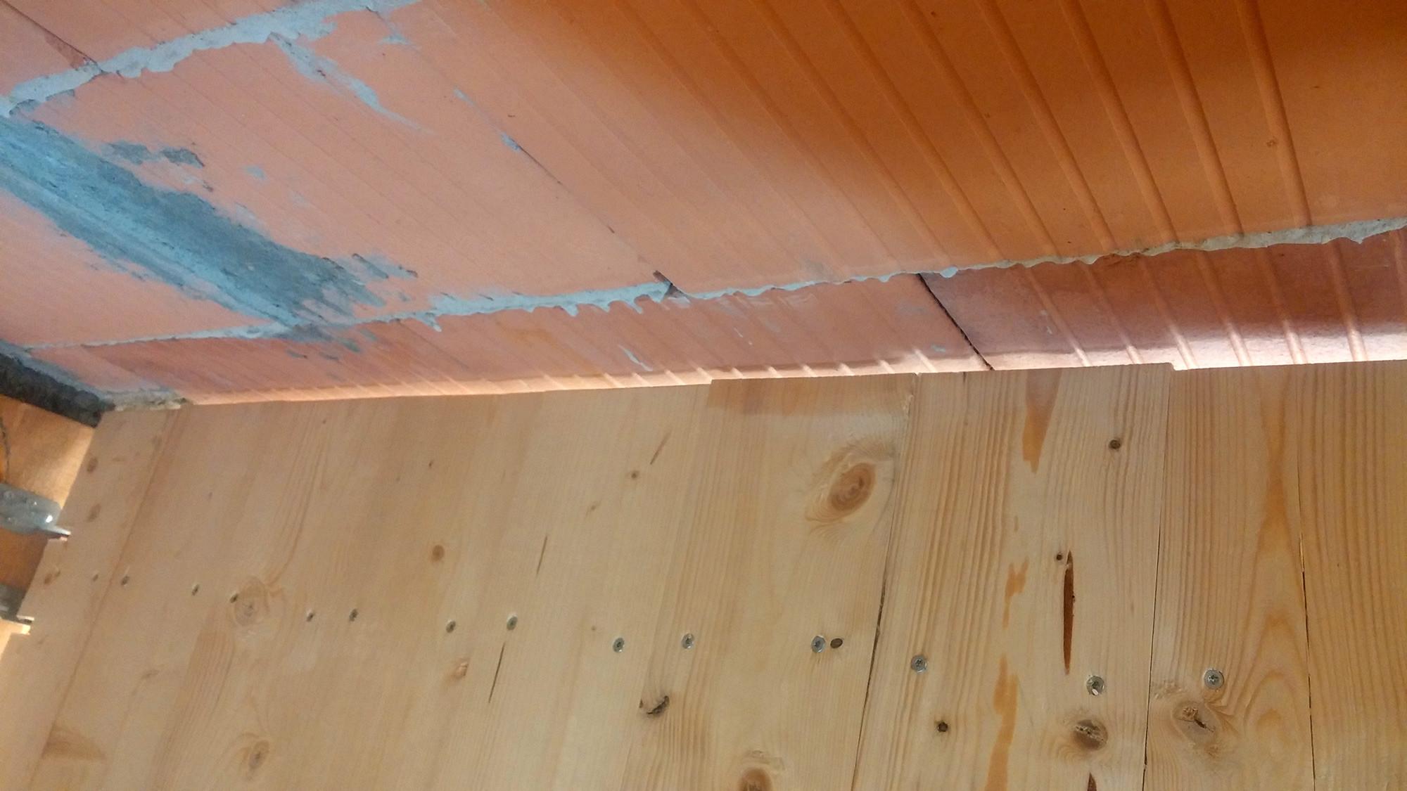 Rauspund im spitzboden in eigenleistung selber verlegen - Osb platten wand verlegen ...