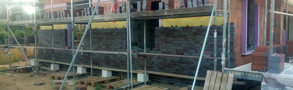 Haus Bauen: 11.) Haus verklinkern lassen