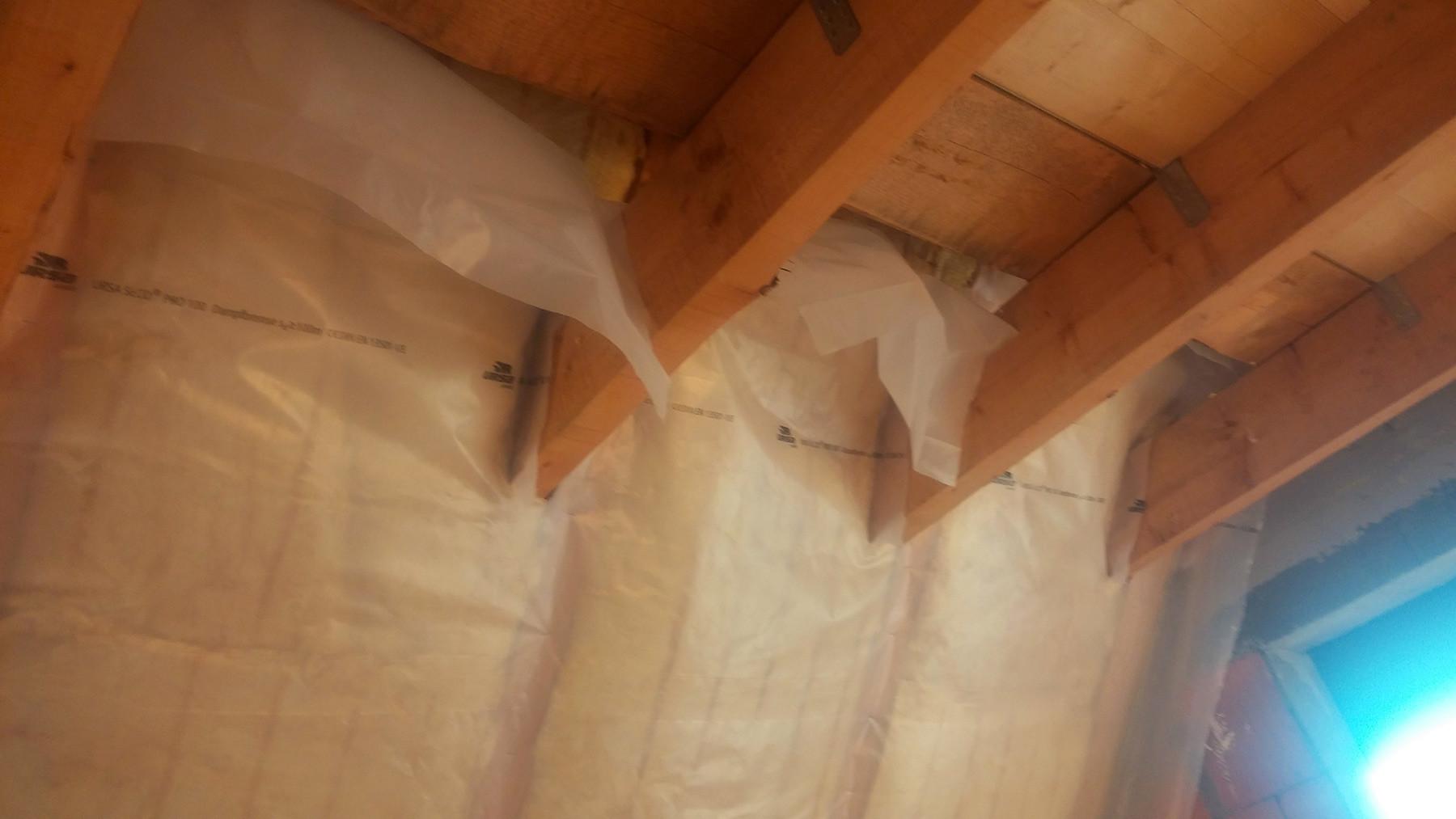 Dach Dämmen Zwischensparrendämmung Dampfbremse