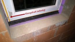 Fenster Mangel