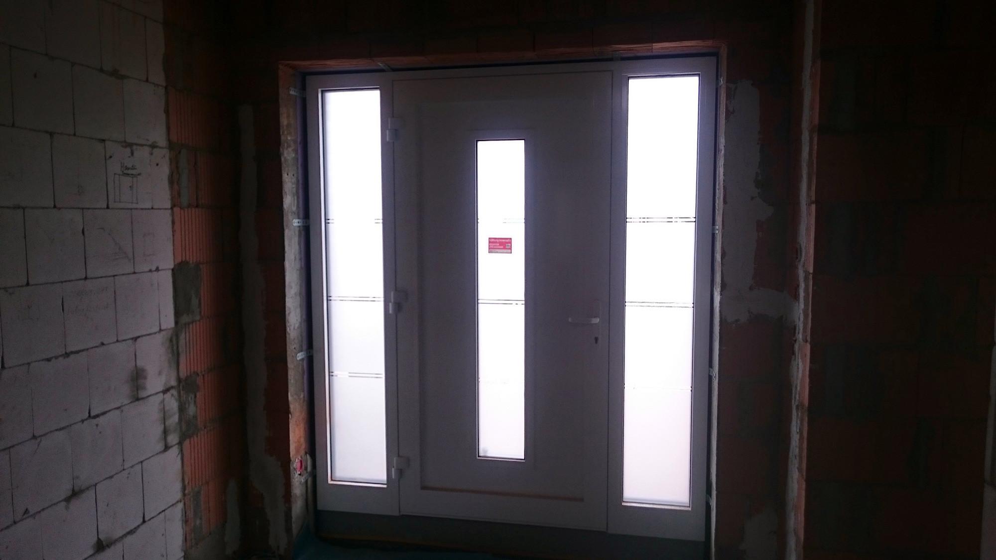 Br mse fenster premium 2 0 und haust r eingebaut - Fenster beschlagen von innen bei kalte ...