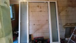 Haustür Rahmen und Seitenteile