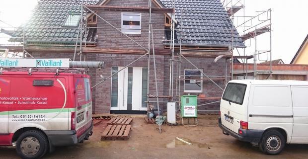 Brömse Fenster Premium 2.0 und Haustür eingebaut