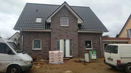 Kunststoff Dachverkleidung bei unserem Einfamilienhaus