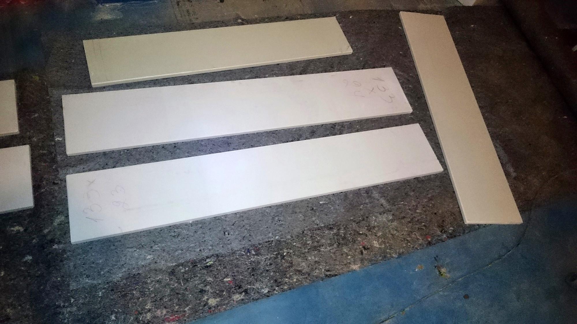 Innenfensterbänke einbauen: Micro Carrara selbst eingebaut