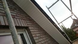 Ortgang Dachverkleidung aus Kunststoff