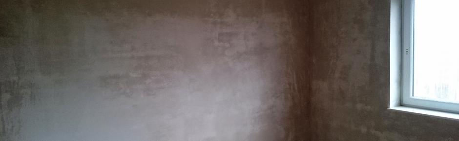 Haus bauen: 17.) Putzarbeiten und Lüften nach dem Innenputz