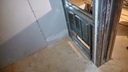 Fußbodenheizung Verteiler im Spitzboden
