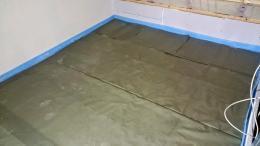 PE-Folie bei der Fußbodenheizung mit Trockensystem