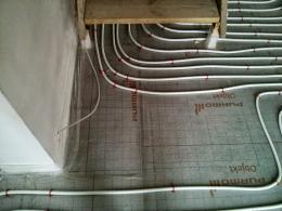 Treppe - keine Fußbodenheizung