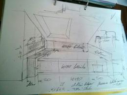 Bad- und Fliesenplanung Skizze