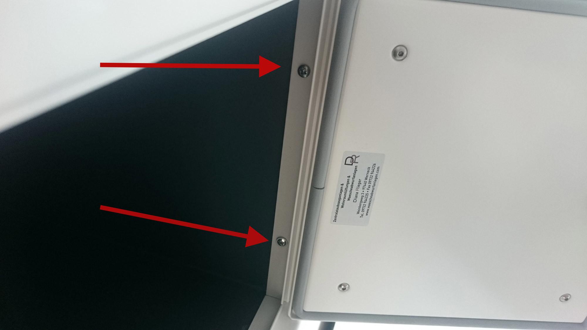 Wäscheschacht Klappe wäscheabwurf klappe verkleidung vom wäscheabwurfsystem und fazit