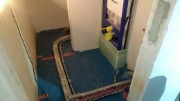 Gäste-Bad WC-Trockenbau Vorbau