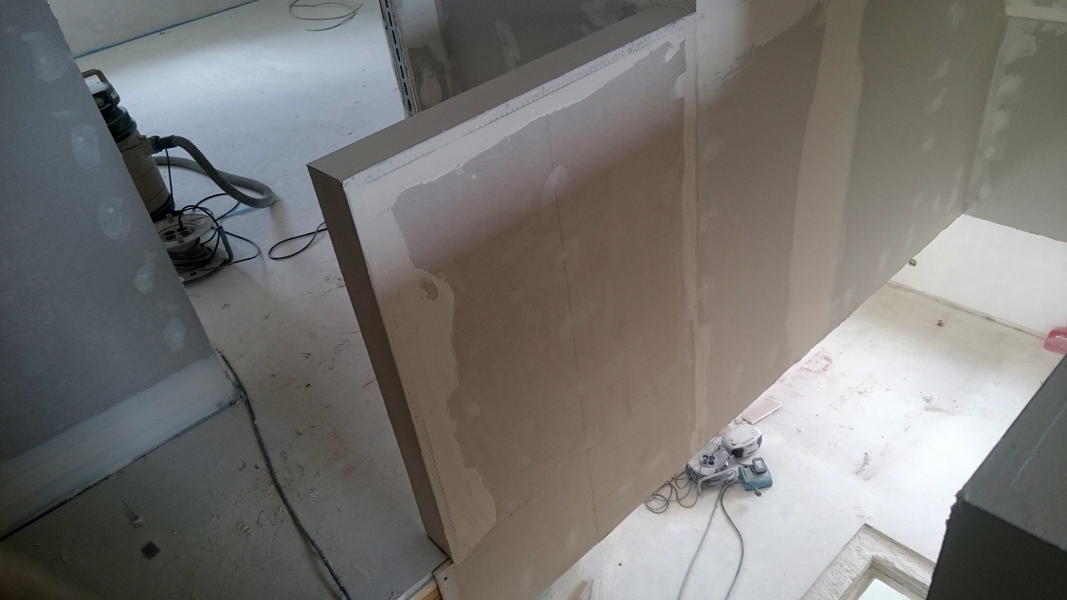 Treppengeländer Verkleiden gipskartonplatten verlegen swalif