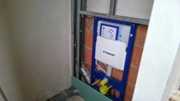 Trockenbau: WC-Vorwandinstallation