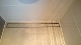 verflieste Duschrinne - bodengleiche Dusche