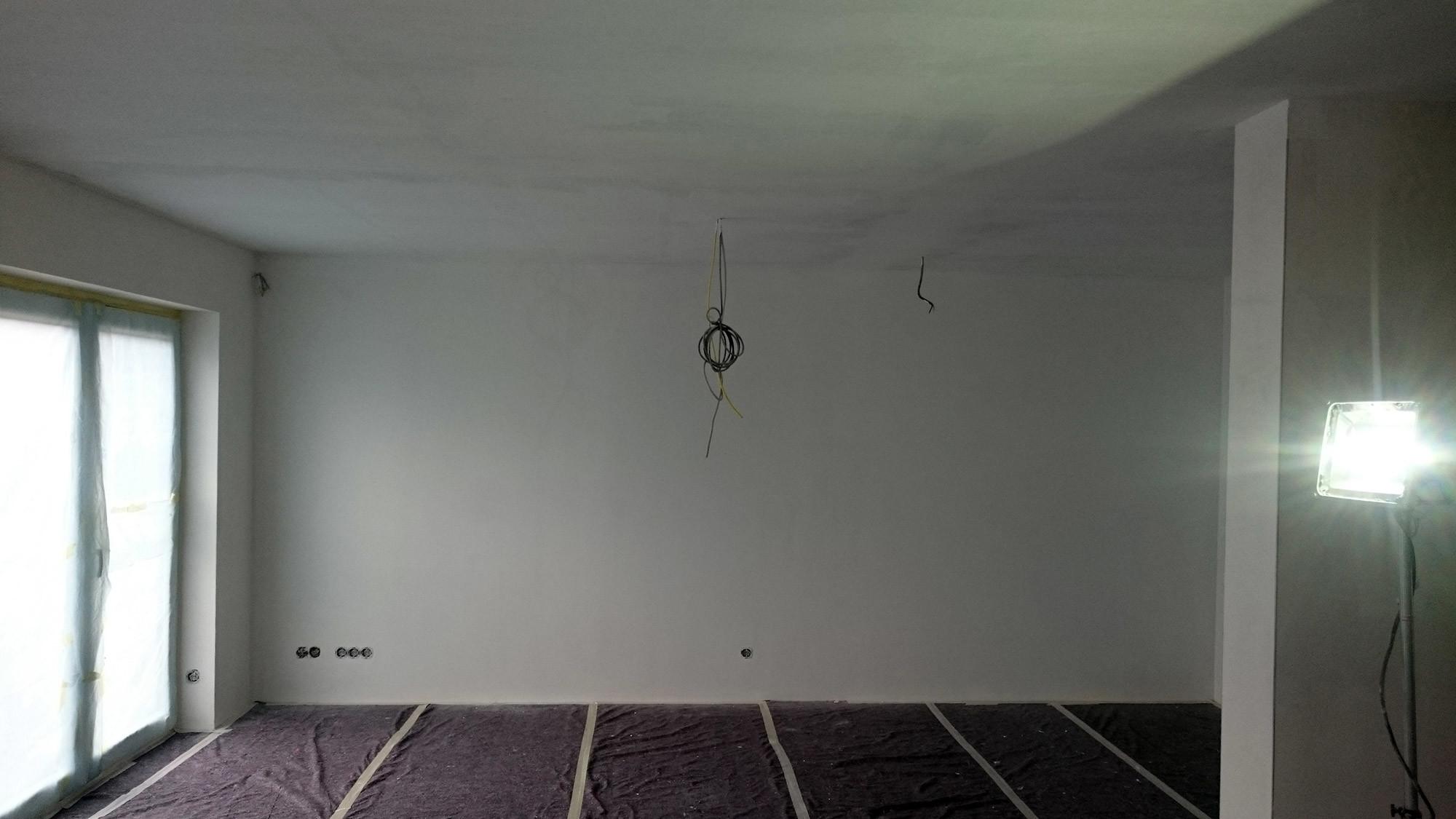 malerarbeiten malervlies kleben und streichen in eigenleistung. Black Bedroom Furniture Sets. Home Design Ideas