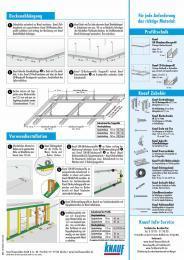 Deckenabhängung: Kurz-Tipps von Knauf