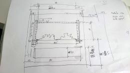 Skizze: Elektrokamin Planung