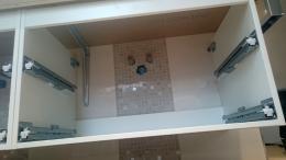 Badezimmer Unterschrank montieren