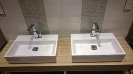 Doppel Waschbecken im Bad