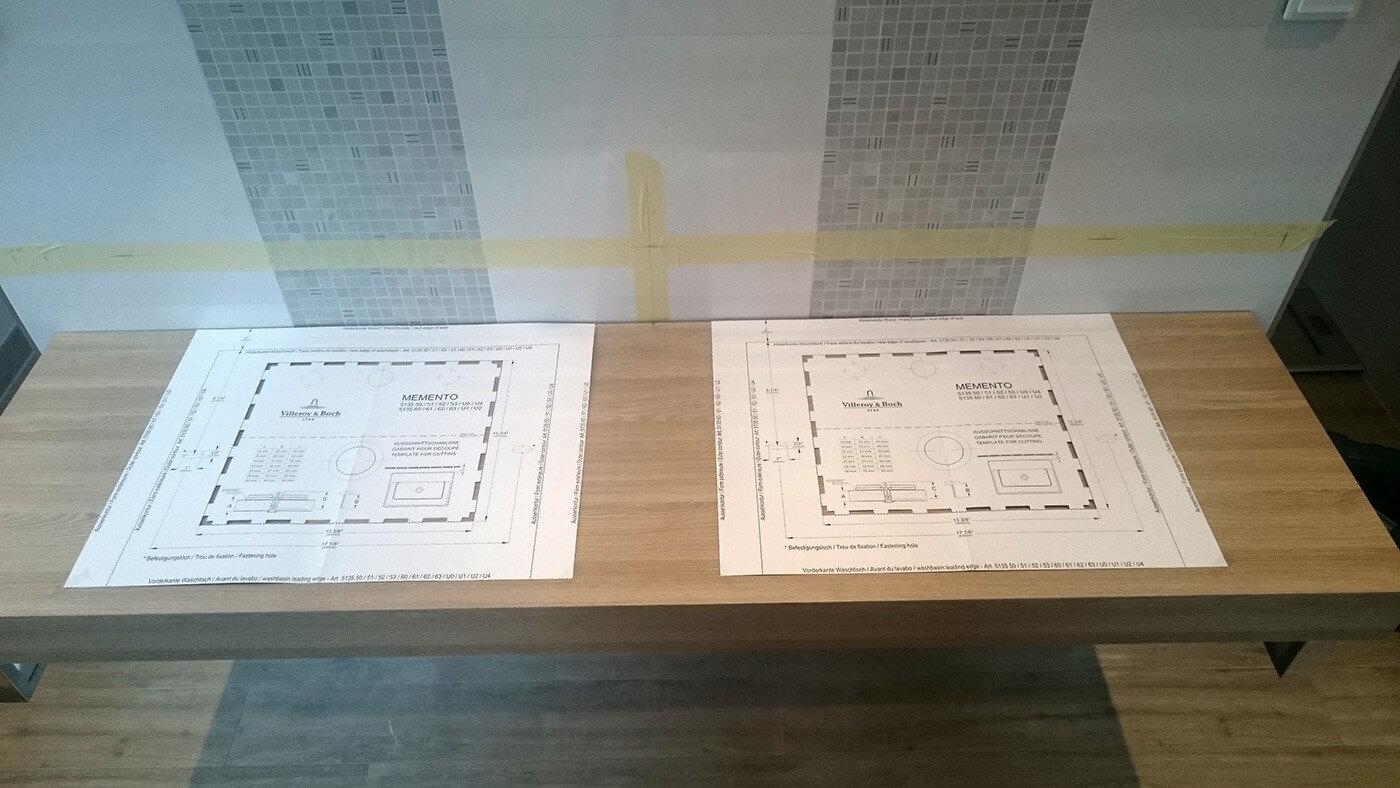badezimmer ausbauen badfliesen badm bel armaturen. Black Bedroom Furniture Sets. Home Design Ideas