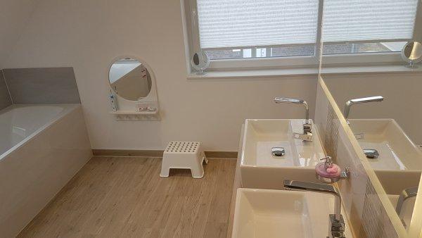 Badezimmer Kinderspiegel