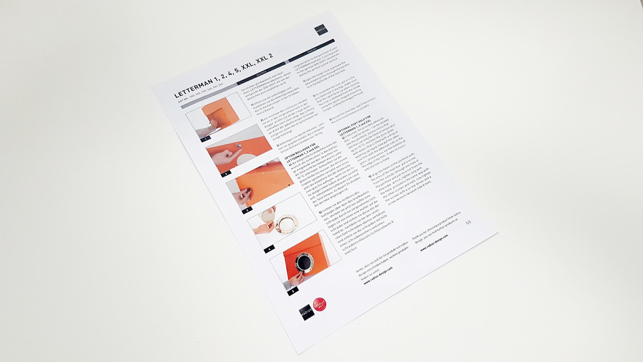 Letterman Briefkasten Xxl Von Radius Im Test Montage Erfahrungen