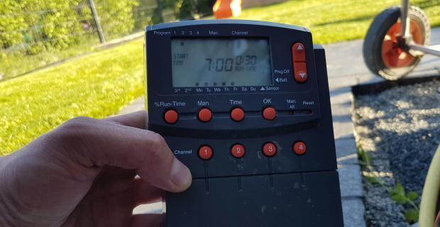 Automatische Gartenbewässerung: Bewässerungscomputer einstellen [Teil 3]