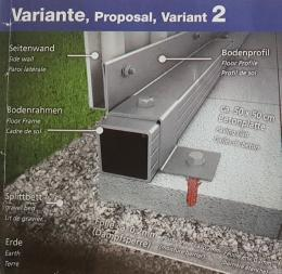 Biohort Fundament: Betonplatten