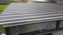 Biohort Highline Dachbleche anbringen