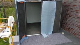 Biohort Highline Doppeltür einhängen
