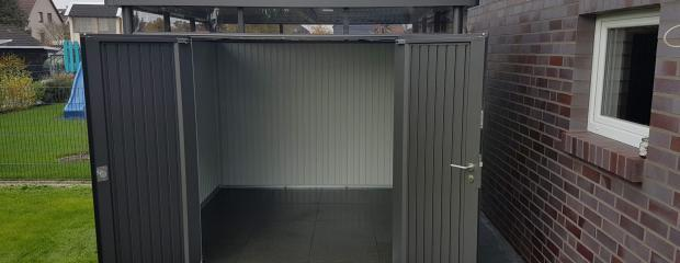 Geräteschuppen aus Metall: Ratgeber und Tipps zum Metallgerätehaus aufbauen