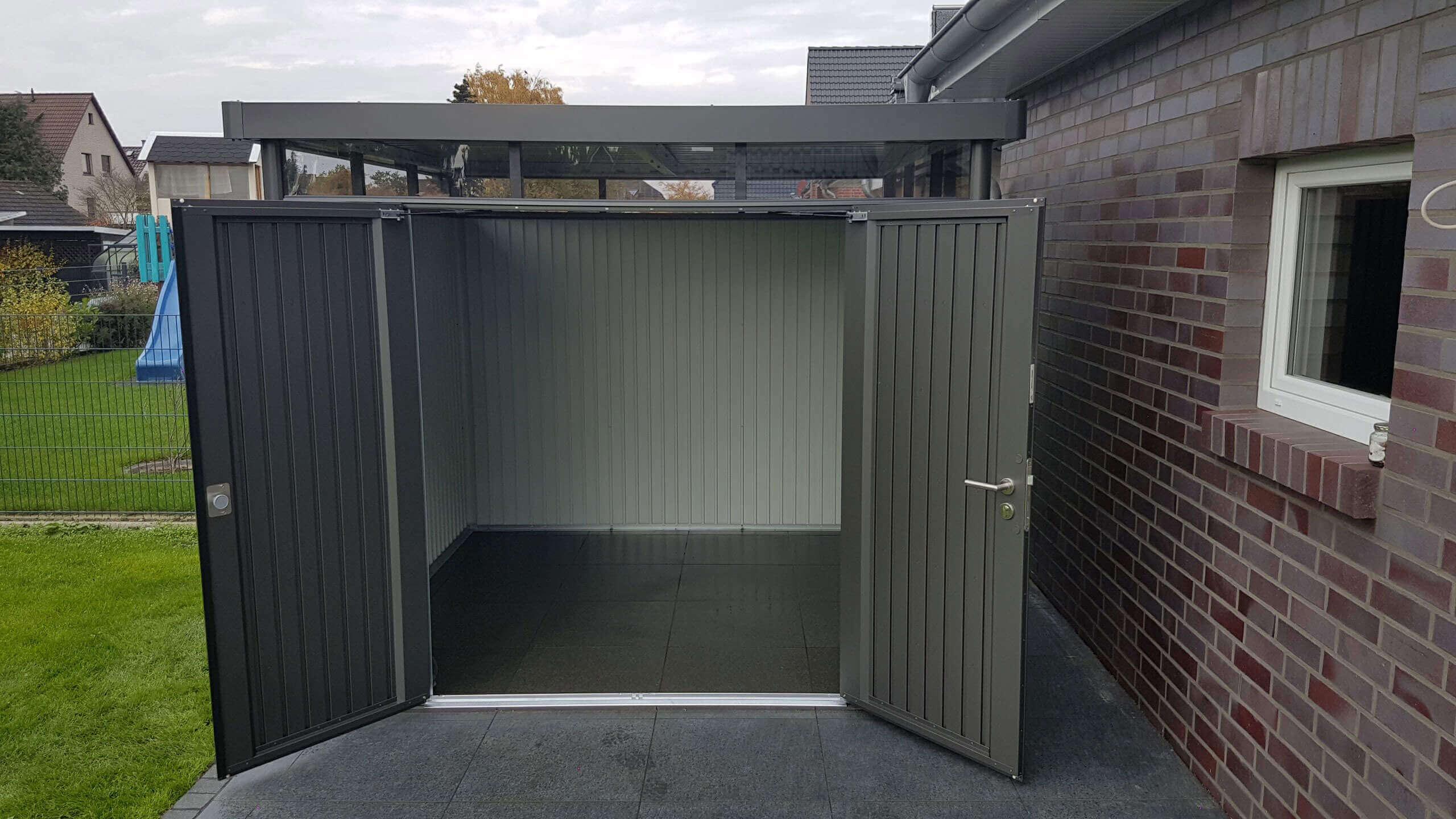 ▷ geräteschuppen aus metall: ratgeber zum metallgerätehaus aufbauen