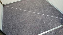 Diagonale im Gartenhaus messen