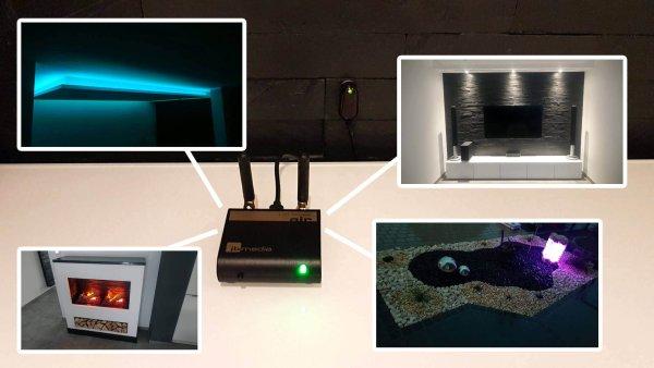 Light Manager Air: Zentrale Lichtsteuerung im Eigenheim