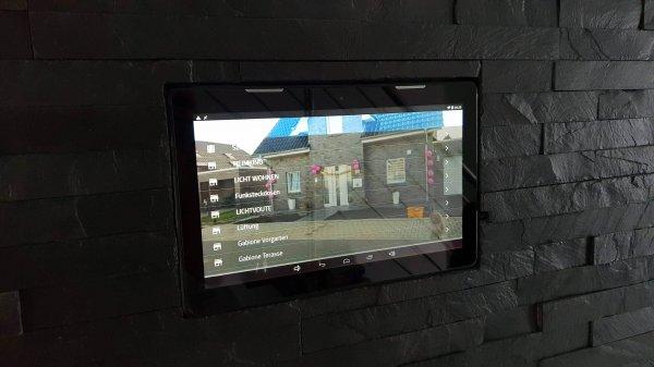 Light Manager Air mit dem Tablet steuern
