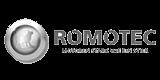 Romotec Logo grau