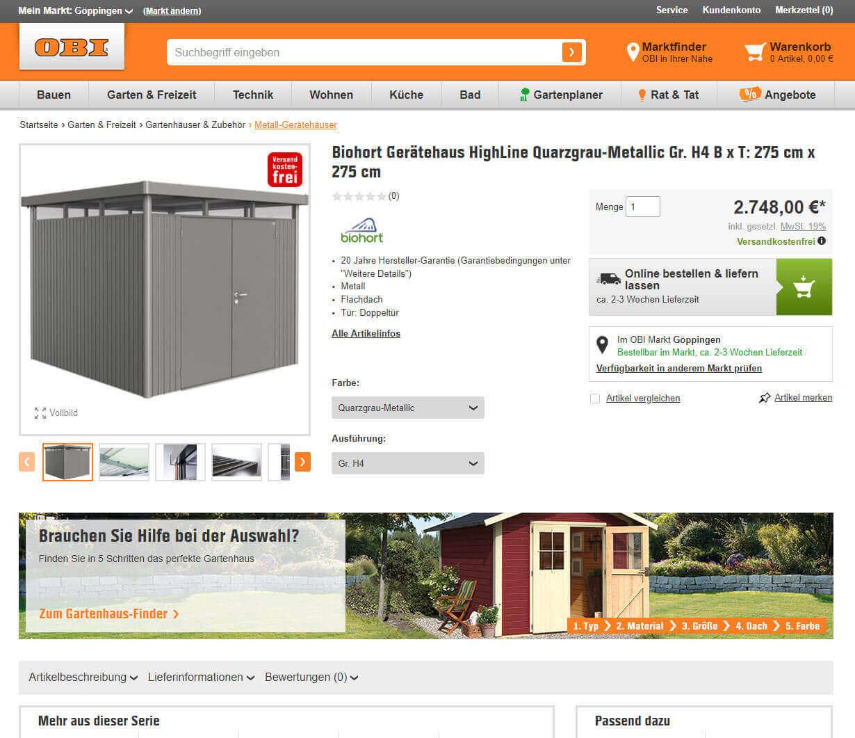 ger teschuppen aus metall ratgeber zum metallger tehaus. Black Bedroom Furniture Sets. Home Design Ideas
