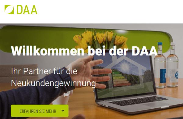 DAA - Neukundengewinnung im Handwerk