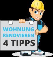Wohnung renovieren - 4 Tipps